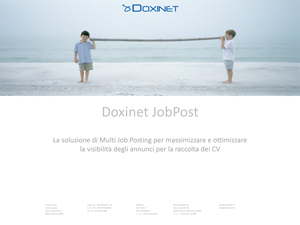 Job Post Doxinet - il sistema di multi job posting